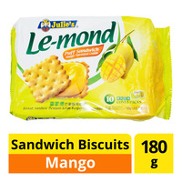 Julie's Le-Mond Sandwich Biscuits - Mango