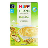 HiPP Organic Cereal Pap without Milk - Oat (6+ Months)