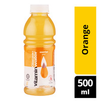 Glaceau Essential Vitamin Bottle Water - Orange