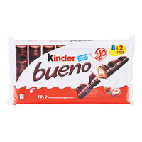 Kinder Bueno Chocolate Wafer Bar - Milk