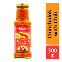Sing Long Chinchalok With Chilli, Onion & Lime