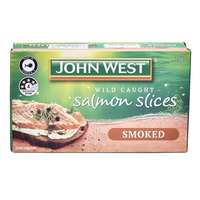 John West Salmon Slices - Smoked