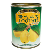 Yifon Brand Loquats in Syrup