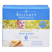 Bellamy's Organic Baby Milk Rusks - Toothiepegs
