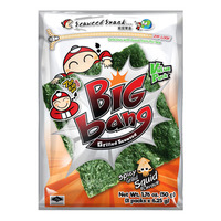 Tao Kae Noi Big Bang Grilled Seaweed - Spicy Grilled Squid