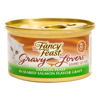 Fancy Feast Gravy Lovers Cat Food - Salmon