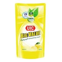 UIC Big Value Detergent Liquid Refill - Lemon