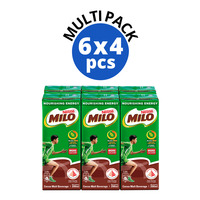 Milo Chocolate Malt Packet Drink - Regular 24 x 200ML (CTN)