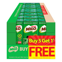 Milo Chocolate Malt Packet Drink 4 x (5 + 1 free) x 200ML (CTN)