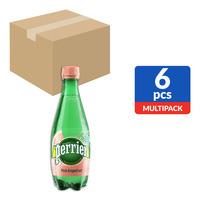 Perrier Sparkling Mineral Bottle Water-PinkGrapefruit