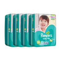 Pampers Baby Dry Diapers - XL (12 - 16kg) 4S x 40S (CTN)
