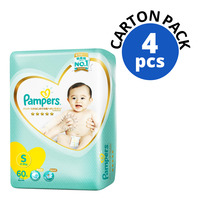 Pampers Premium Care Diapers - S (4 - 8kg)