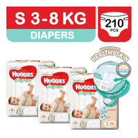 Huggies Platinum Diapers - S (3 - 8kg)