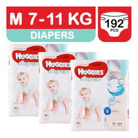 Huggies Platinum Diapers - M (7 - 11kg)