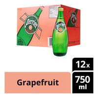 Perrier Sparkling Mineral Bottle Water - Grapefruit