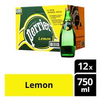Perrier Sparkling Mineral Bottle Water - Lemon