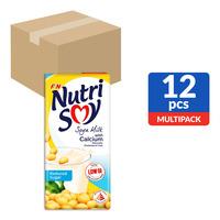 F&N NutriSoy Soya Milk with Calcium - Reduced Sugar