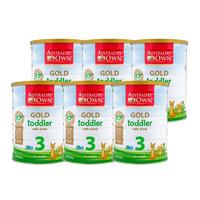 Australia's Own Gold Toddler Milk Formula - Step 3 6 x 900G (CTN)