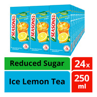 F&N Seasons Packet Drink-Ice Lemon Tea(Reduced Sugar)