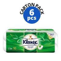 Kleenex Ultra Soft Toilet Tissue Rolls - Aloe Clean