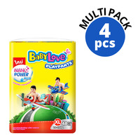 Babylove Playpants Baby Diapers - XL (12 - 17kg)