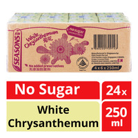 F&N Seasons Packet Drink-WhiteChrysanthemumTeaNoSugar