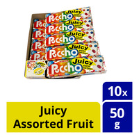 UHA Puccho Stick Candy - Juicy Assorted Fruit