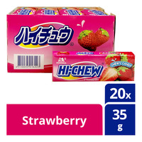 Hi-Chew Chewy Candy - Strawberry