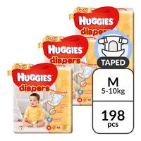 Huggies Gold Diapers - M (5 - 10kg)