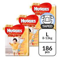 Huggies Gold Diapers - L (8 - 13kg)