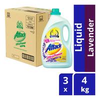 Attack Liquid Detergent - Ultra Power (Lavender)