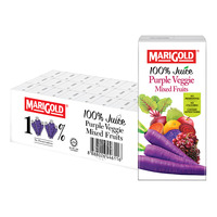 Marigold 100% Packet Juice - Purple Veggie
