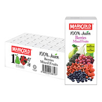 Marigold 100% Packet Juice - Berries Mixed Fruits