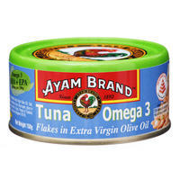 Ayam Brand Tuna Flakes - Extra Virgin Olive Oil (Omega 3)