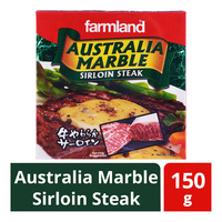 Farmland Frozen Australia Marble Sirloin Steak