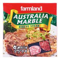 Farmland Frozen Australia Marble Ribeye Steak