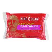 King Oscar Wild Caught Sardines - Mediterranean Style