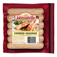 Johnsonville Sausages - Cooked