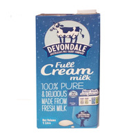 Devondale UHT Milk - Full Cream 1L