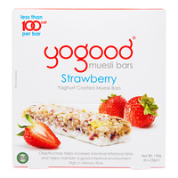 Yogood Yoghurt Coated Muesli Bars - Strawberry