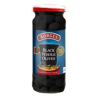 Borges Black Olives - Whole
