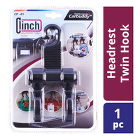 Carbuddy Clinch Headrest Twin Hook