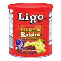 Ligo Brand California Seedless Raisins