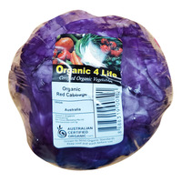 Organic Australia Red Cabbage