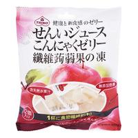 Triko Fibre Konjac Coconut Jelly - Apple