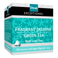 Dilmah Exceptional Tea Bags - Fragrant Jasmine Green Tea