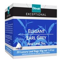 Dilmah Exceptional Tea Bags - Elegant Earl Grey