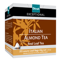 Dilmah Exceptional Tea Bags - Italian Almond