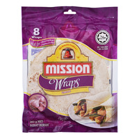 Mission Wraps - Garlic