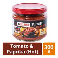 Delhaize Torti'Dip's Sauce - Tomato & Paprika (Hot)